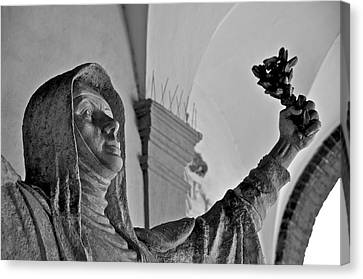 Saint Catherine Of Siena Canvas Print by Leslie Lovell