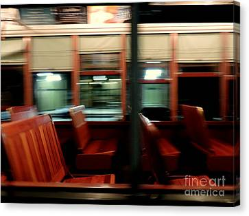 New Orleans Saint Charles Avenue Street Car In New Orleans Louisiana #6 Canvas Print by Michael Hoard