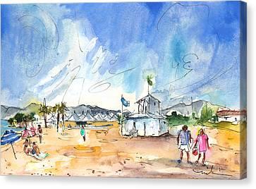 Saint Cyprien 01 Canvas Print by Miki De Goodaboom