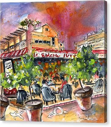 Saint Cyprien 04 Canvas Print by Miki De Goodaboom
