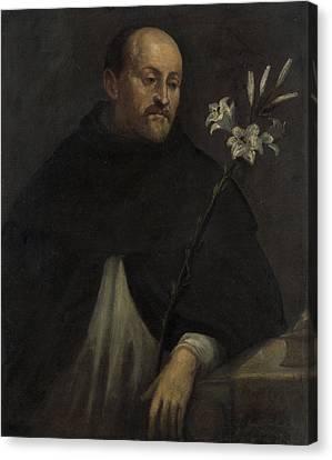 Saint Dominic Canvas Print - Saint Dominic, Anonymous by Litz Collection