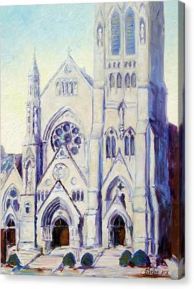 Saint Francis Xaviere College Church - St.louis Canvas Print by Irek Szelag