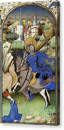 St George Canvas Print - Saint George And The Dragon by Getty Research Institute