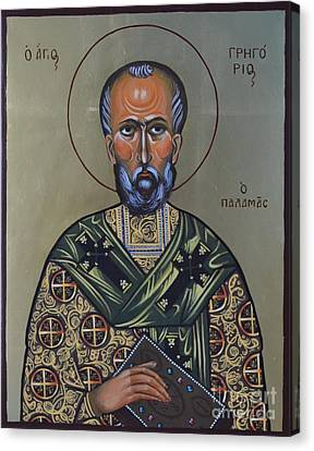Saint Gregory Icon Canvas Print