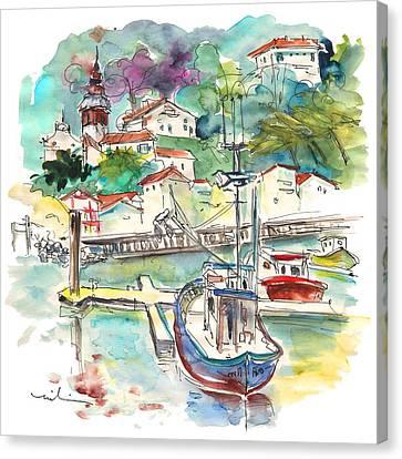 Saint-jean-de-luz 02 Canvas Print by Miki De Goodaboom