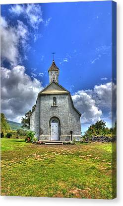 Saint Joeseph's Church Maui  Hawaii Canvas Print by Puget  Exposure