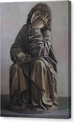 Saint John Dream Canvas Print by Paez  Antonio