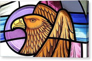 Saint John Eagle  Canvas Print