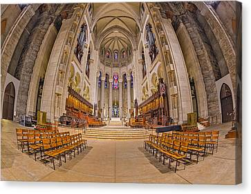 Saint John The Divine Cathedral High Altar  II Canvas Print