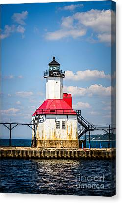 Saint Joseph Lighthouse Picture Canvas Print by Paul Velgos