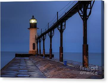 Benton Canvas Print - Saint Joseph Lighthouse by Twenty Two North Photography