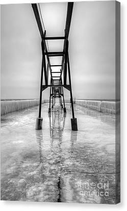 Saint Joseph Michigan Pier Canvas Print