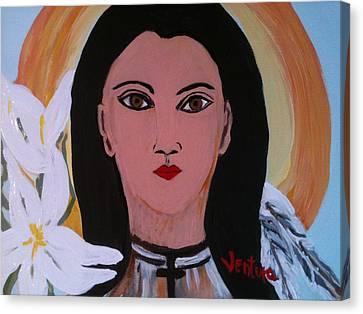 Saint Kateri Takekwitha Canvas Print