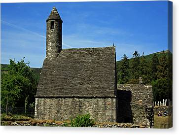 Saint Kevin's Church Canvas Print by Aidan Moran