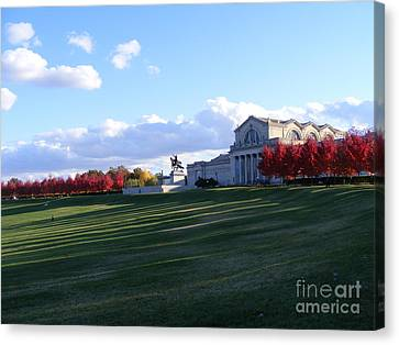 Saint Louis Art Museum Canvas Print by Nancy Kane Chapman