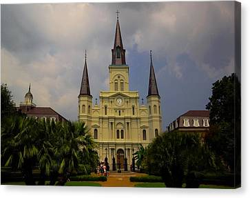Saint Louis Cathedral Catholic Church New Orleans Canvas Print