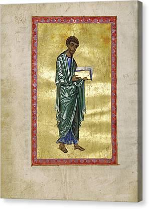 Saint Luke Unknown Constantinople, Turkey Canvas Print by Litz Collection