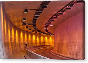 Saint-marc Tunnel Scene 1 Canvas Print by Eric Soucy
