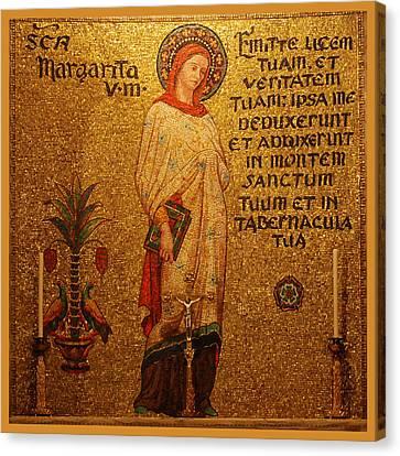 Saint Margaret Altar Canvas Print by Philip Ralley