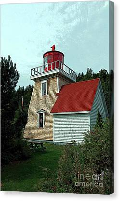 Saint Martin's Lighthouse 2 Canvas Print by Kathleen Struckle
