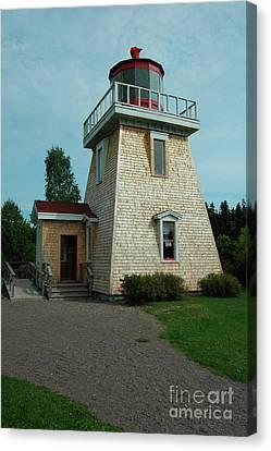Saint Martin's Lighthouse Canvas Print by Kathleen Struckle