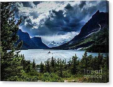 Saint Mary Lake Canvas Print