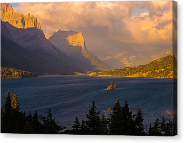 Saint Mary Sunrise Canvas Print