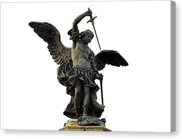 Saint Michael Canvas Print by Fabrizio Troiani