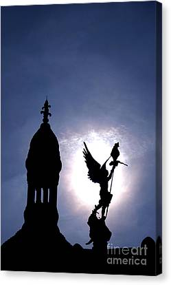 Saint Michael The Archangel  Canvas Print by Olivier Le Queinec