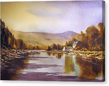 Canvas Print - Saint Mullins Revisited by Roland Byrne