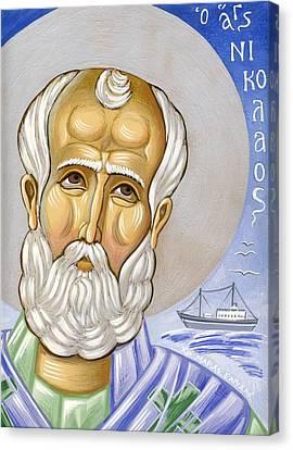 Saint Nicolas Canvas Print