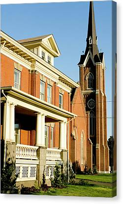 Saint Patrick's Catholic Church, Walla Canvas Print by Nik Wheeler