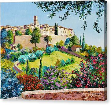 Saint Paul De Vence Canvas Print