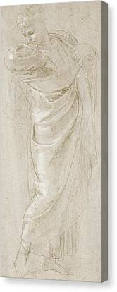 Saint Paul Rending His Garments Canvas Print by Raphael