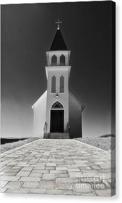 Canvas Print featuring the photograph Saint Peter Church by Joseph Hollingsworth