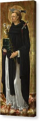 Saint Peter Martyr Canvas Print