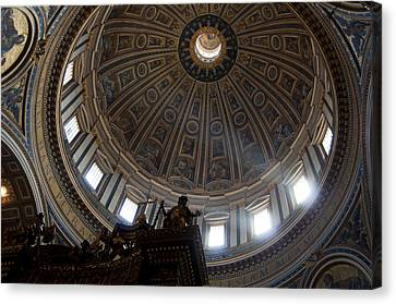 Saint Peter's Light Canvas Print by Aaron Bedell