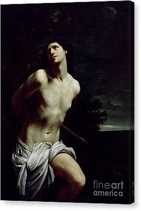 Saint Sebastian Canvas Print by Guido Reni