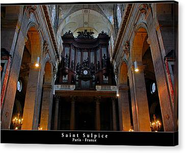 Saint Sulpice Canvas Print