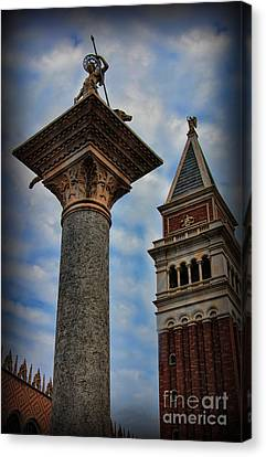 Saint Theodore Standing Guard II Canvas Print by Lee Dos Santos