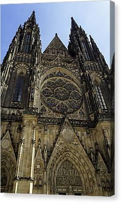 Saint Vitus Cathedral. Canvas Print