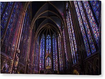 Sainte Chapelle Canvas Print by Pablo Lopez