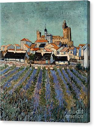 Saintes Maries De La Mer Canvas Print