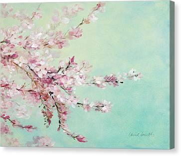 Sakura Fragile Beauty Canvas Print