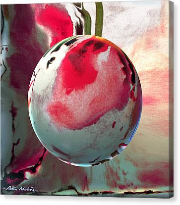 Sakura Sphere Canvas Print