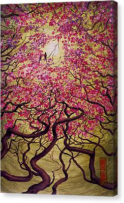 Sakura Canvas Print by Vrindavan Das