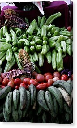 Salad Fixings Canvas Print by Mustafa Abdullah