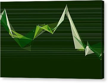 Vector Canvas Print - Salad Polygon Triangle Graph by Frank Ramspott