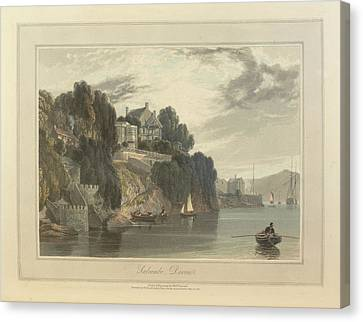 Salcombe Canvas Print by British Library