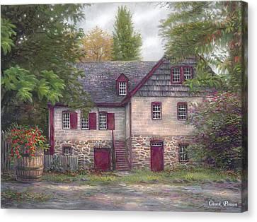 Pilgrims Canvas Print - Salem House by Chuck Pinson